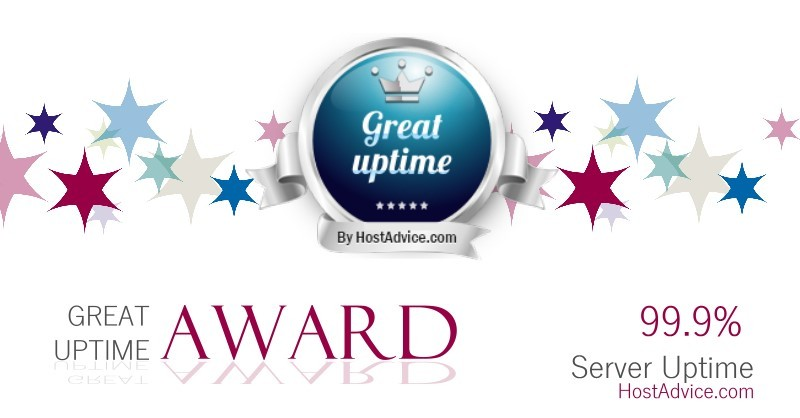 Great Uptime Award for Hosting Bangladesh – by HostAdvice